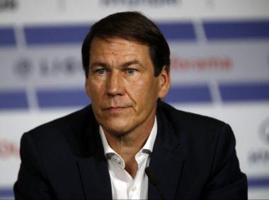 L'entraîneur de football français Rudi Garcia