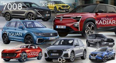 Des SUV (Sport Utility Vehicles)