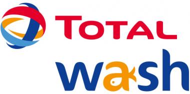 """Logo de l'enseigne française de centres de lavage automobiles """"Total Wash"""""""