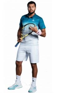 Le joueur de tennis français Jo-Wilfried Tsonga