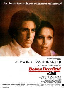 """Affiche du film états-unien """"Bobby Deerfield"""" de Sydney Pollack (1977)"""