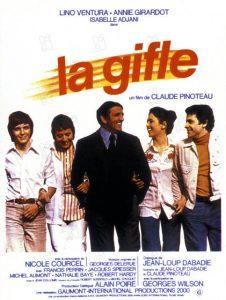 """Affiche du film français """"La gifle"""" de Claude Pinoteau (1974)"""