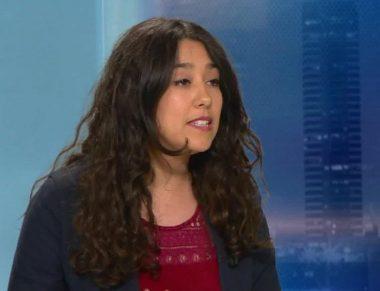 La journaliste française Alexandra Gonzalez