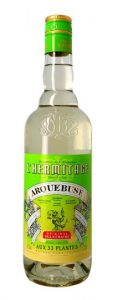 Une bouteille d'Arquebuse de l'Hermitage