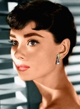 L'actrice états-unienne Audrey Hepburn