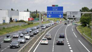 Une autoroute française