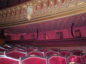 Les baignoires de l'opéra Garnier, à Paris (75)