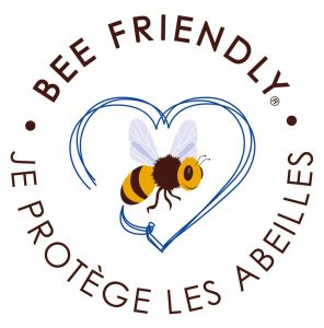 "Logotype du label ""Bee friendly"""