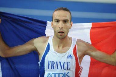 L'athlète français Bouabdellah Tahri dit Bob Tahri