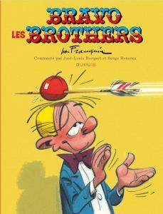 """L'album de Spirou et Fantasio """"Bravo les Brothers"""" par André Franquin, sorti en 2012"""