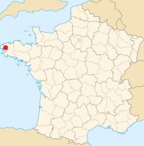 Localisation de la ville de Brest (29)