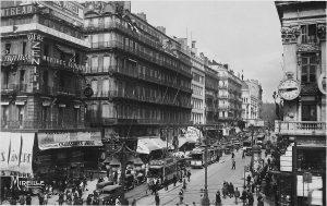 La Canebière, à Marseille (13), autrefois