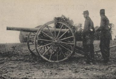 Un canon de campagne