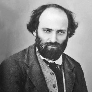 Le peintre français Paul Cézanne