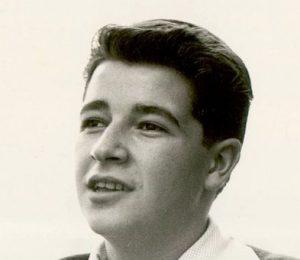 Claude Villers, plus jeune journaliste de France, en 1961