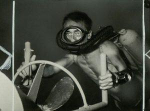 Le commandant Jacques-Yves Cousteau