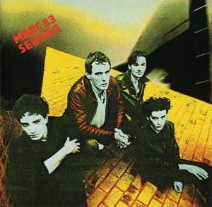 """Le premier disque du groupe de rock français Marc Seberg : """"Marc Seberg 83"""" (1983)"""