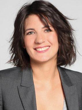 La journaliste sportive française Estelle Denis