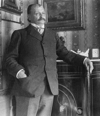 L'écrivain français Georges Courteline (25 juin 1858 - 25 juin 1929)