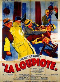 """Affiche du film français """"La loupiotte"""" de Jean Kemm et Jean-Louis Bouquet (1936)"""