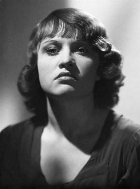 L'actrice française Ginette Leclerc