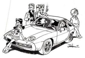 Sophie, Ginger, Véraline, Starter et Pipette: les personnages du dessinateur belge Jidéhem