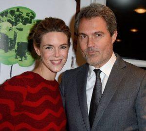 """L'animatrice de télévision Julie Andrieu et son époux, le docteur Stéphane Delajoux, surnommé """"Le chirurgien des stars"""""""