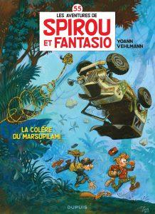 """""""La colère du marsupilami"""", 55e album des aventures de """"Spirou et Fantasio"""", par Yoan et Vehlmann (2015)"""