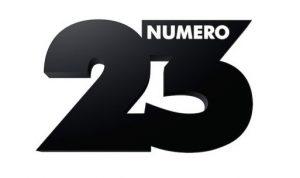 Logotype de l'ancienne chaîne de télévision Numéro 23, devenue RMC Story, le 3 septembre 2018