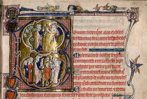 Un manuscrit médiéval