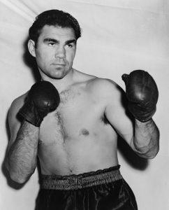 Le champion de boxe allemand Max Schmeling, premier européen sacré champion du monde de boxe, entre 1930 et 1932