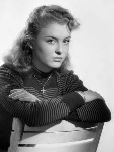 L'actrice française Nicole Courcel