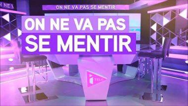 """Logo de l'émission """"On ne va pas se mentir"""" de la chaîne de télévision française d'information en continu iTélé (août 2012 - août 2016)"""
