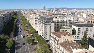 L'avenue du Prado, à Marseille (13)