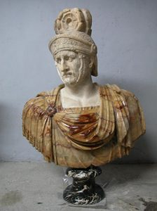 Buste du roi d'Épire Pyrrhus 1er