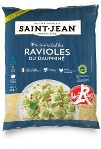 Sachet de ravioles du Dauphiné de marque Saint-Jean