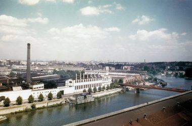 Les usines Renault, à Boulogne-Billancourt (92)