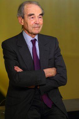 L'avocat et homme politique français Robert Badinter