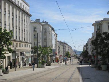 La rue de Siam, à Brest (29), de nos jours