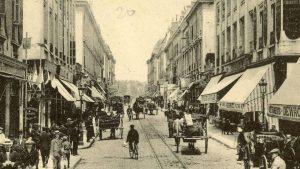 La rue de Siam, à Brest (29), au début du XXe siècle