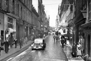 La rue de Siam, à Brest (29), avant-guerre