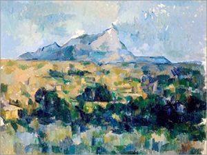 La montagne Sainte-Victoire, près d'Aix-en-Provence (13), peinte par Paul Cézanne
