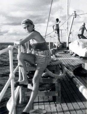 Simone Melchior, la première épouse du commandant Jacques-Yves Cousteau