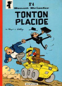 """""""Tonton Placide"""", le 4e album des aventures de """"Benoît Brisefer"""", par Peyo et Walthéry (1969)"""