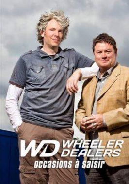 """Le mécanicien Edd China et le concessionnaire Mike Brower, de l'émission de télévision britannique """"Wheeler dealers : occasions à saisir"""""""