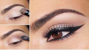 Un maquillage oeil de biche