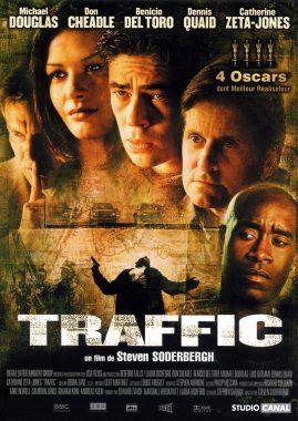 """Affiche du film états-unien """"Traffic"""" de Steven Soderbergh (2000)"""
