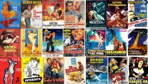 Affiches de cinéma des années 1950