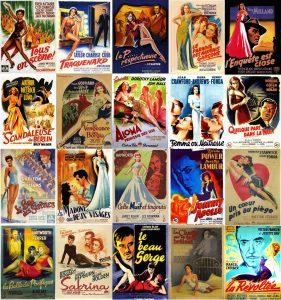 Anciennes affiches de cinéma