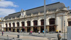 """La gare de Bordeaux-Saint-Jean dite """"Gare Saint-Jean"""" à Bordeaux (33)"""